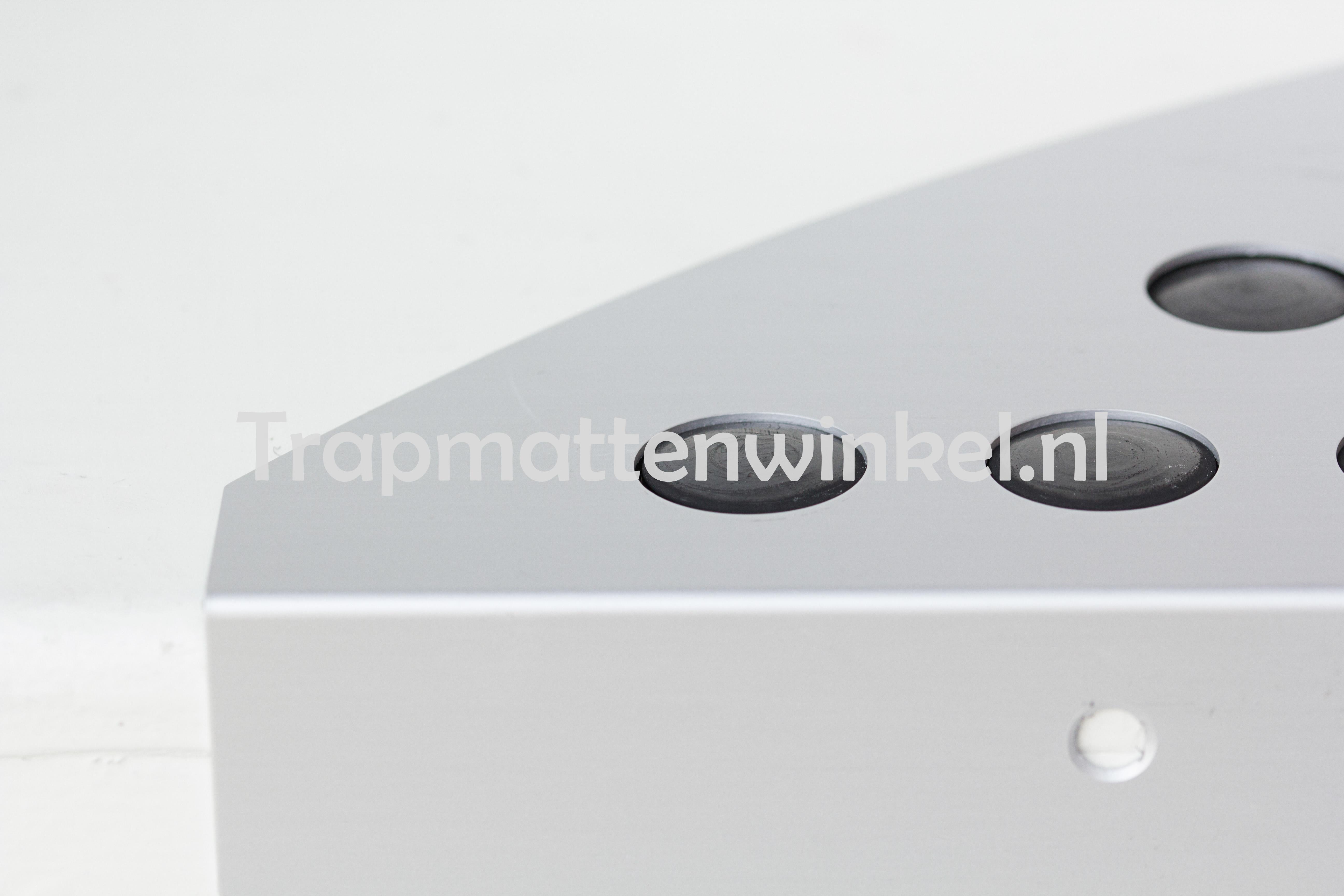 aluminium trapmat met anti-slip